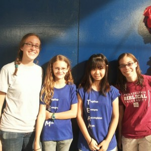 pic with lindsay, emily, and esther