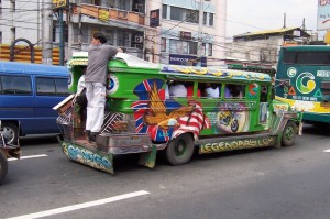 OE back of jeepney